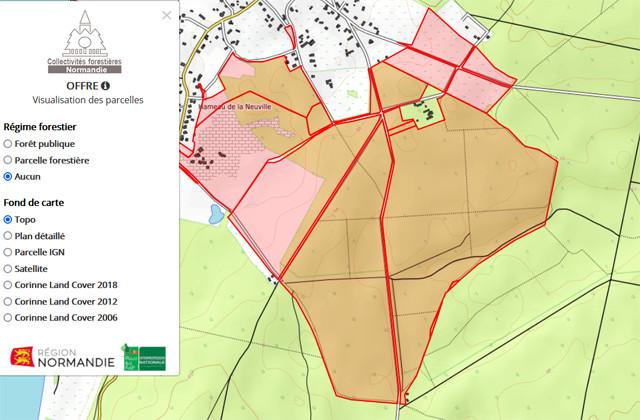 L'observatoire du foncier forestier : notre nouvel outil au service des collectivités normandes