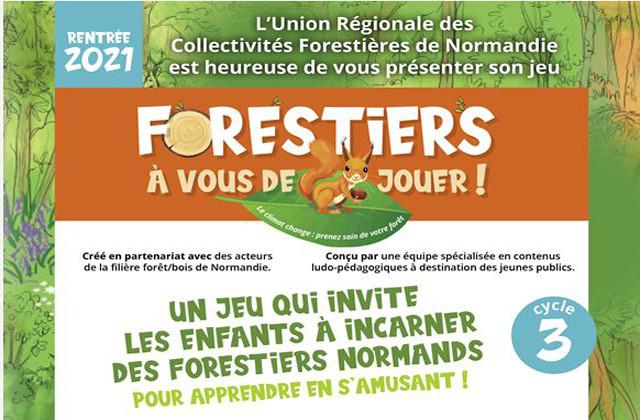 """L'URCOFOR est heureuse de vous présenter son jeu pédagogique : """" Forestiers, à vous de jouer"""""""