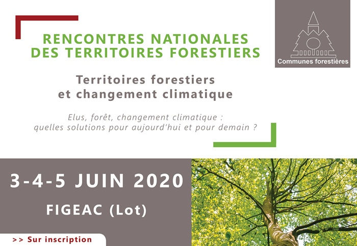 Rencontre National des territoires forestiers